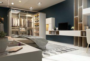 تصميم غرفة نوم ماستر في حي العدل