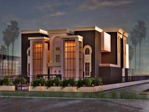 مقترح تصميم مطعم الملكة الاستثماري في منطقة البنوك