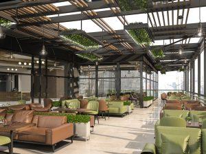 تصميم وتنفيذ  سلسلة مطاعم بك ماما في دريم مول