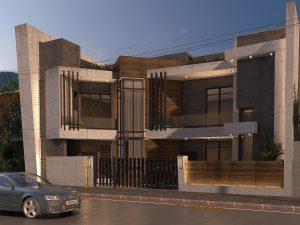 تصميم وتنفيذ منزل في اليرموك