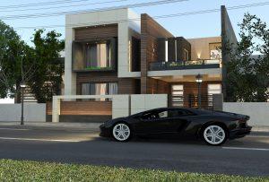 تصميم منزل في الحارثية