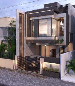تصميم منزل في المنصور شارع 14 رمضان